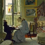 Félix_Emile-Jean_Vallotton_-_Woman_Writing_in_an_Interior_-_Google_Art_Project